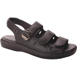 Women's Propet Breeze Walker Black Grain