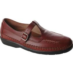 Women's Propet Cafe Walker Brown Smooth