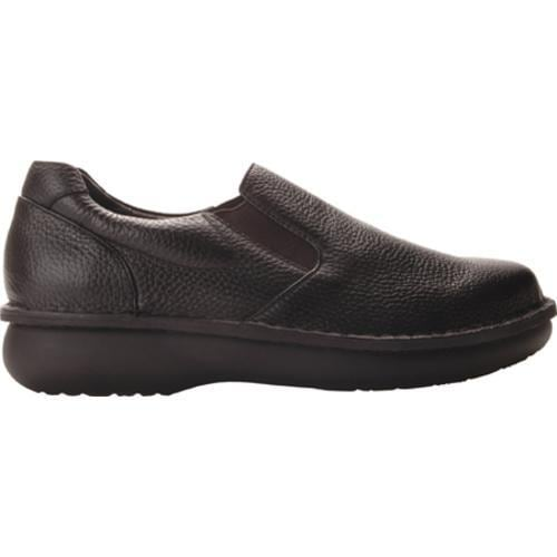 Men's Propet Galway Walker Black Grain - Thumbnail 1