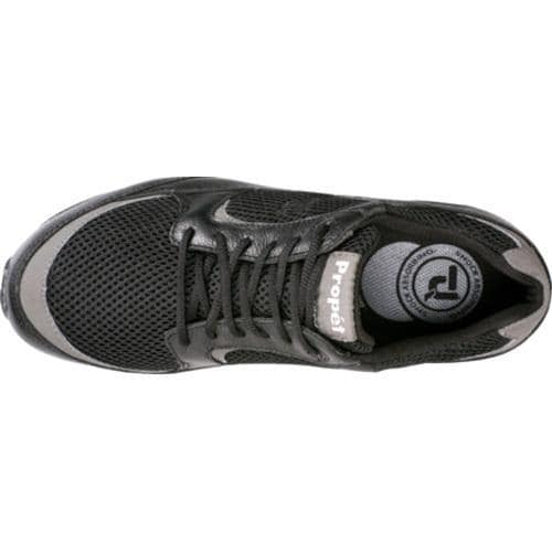 Men's Propet Journey Black/Dark Grey