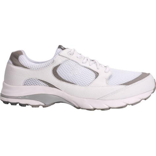 Men's Propet Journey White/Light Grey