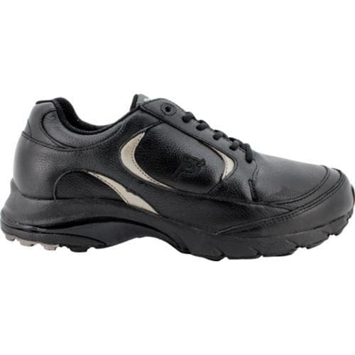 Men's Propet Journey Leather Black/Pewter