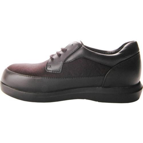 Women's Propet Ped Walker 2 Black Smooth Leather/Nylon - Thumbnail 2