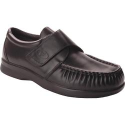 Men's Propet Pucker Moc Strap Black