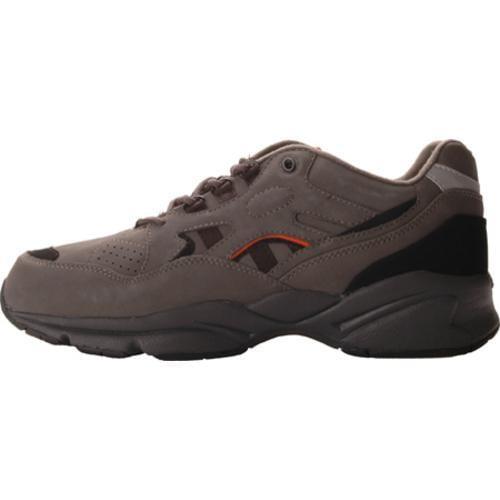 Men's Propet Stability Walker Grey/Black Nubuck