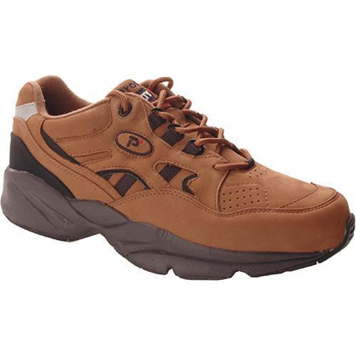 Men's Propet Stability Walker Choco/Black Nubuck - Thumbnail 0