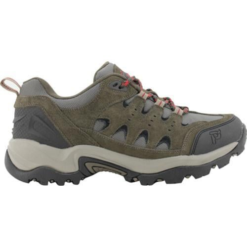 Men's Propet Summit Walker Low Black/Olive - Thumbnail 1