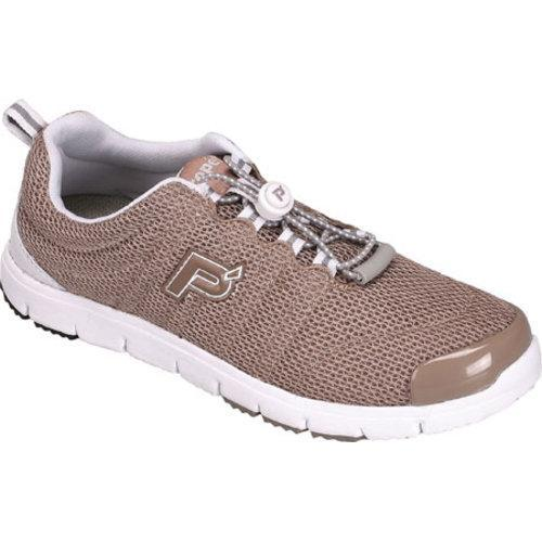 Women's Propet Travel Walker II Taupe Mesh