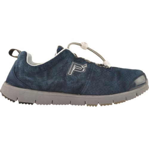 Men's Propet Travel Walker Suede Indigo - Thumbnail 1