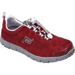 Women's Propet Travel Walker Suede Old Brick
