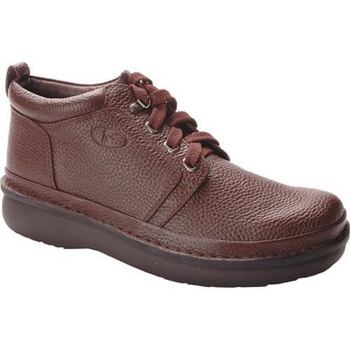 Men's Propet Village Walker Mid Brown Grain - Thumbnail 0