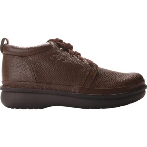 Men's Propet Village Walker Mid Brown Grain - Thumbnail 1