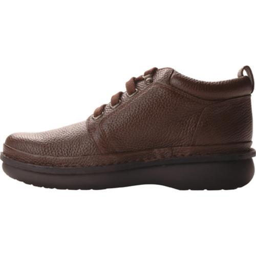 Men's Propet Village Walker Mid Brown Grain - Thumbnail 2