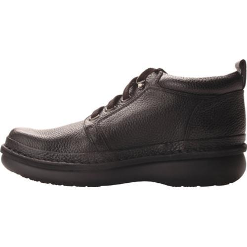 Men's Propet Village Walker Mid Black Grain - Thumbnail 2
