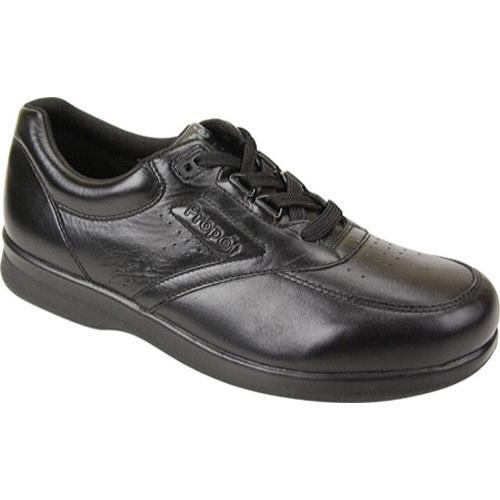 Men's Propet Vista Walker Black Smooth