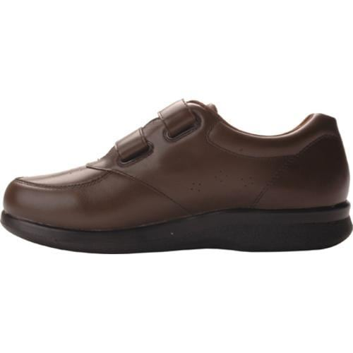 Men's Propet Vista Walker Strap Brown Leather - Thumbnail 2
