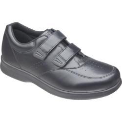 Men's Propet Vista Walker Strap Black Leather