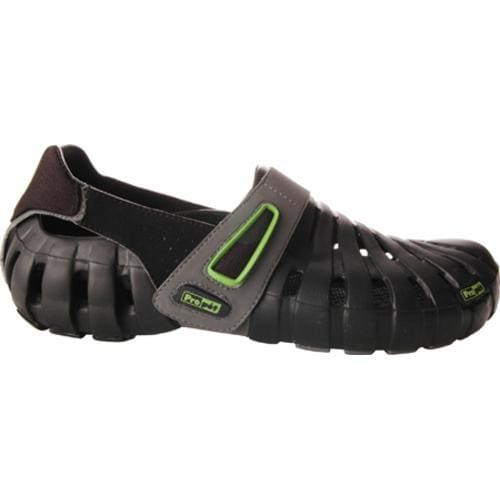 Men's Propet Voyager Walker Black/Electric Lime - Thumbnail 1