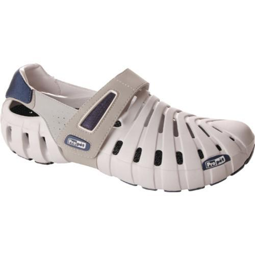 Men's Propet Voyager Walker Light Grey/Midnight Blue - Thumbnail 0