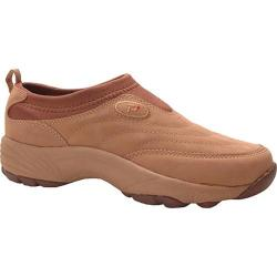 Women's Propet Wash & Wear Slip-On Mushroom Nubuck