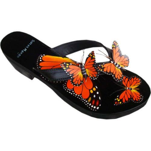 Women's Susan Mango Monarch Butterfly Orange/Green/Black