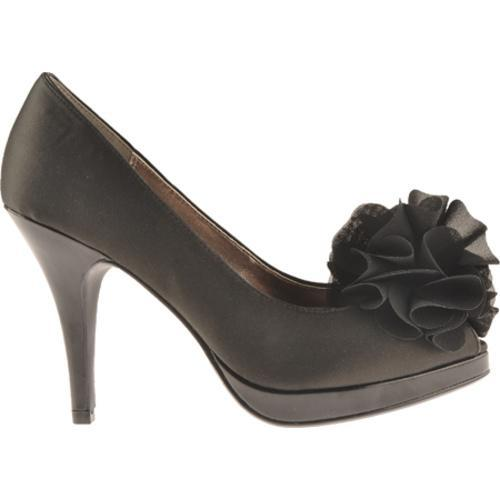 Women's Unlisted by Kenneth Cole Natural Glow Black Wet Satin