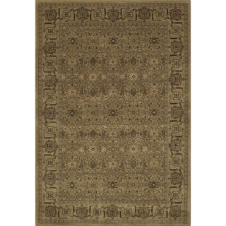 Mirage Palace Green Power-Loomed Rug (2' x 3')