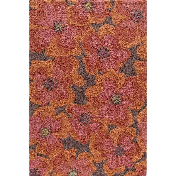 Copia Petals Multi Hand-Hooked Polyester Rug