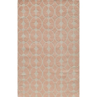 clearance momeni lil mo classic trellis pink cotton rug 2 - Home Decor Clearance