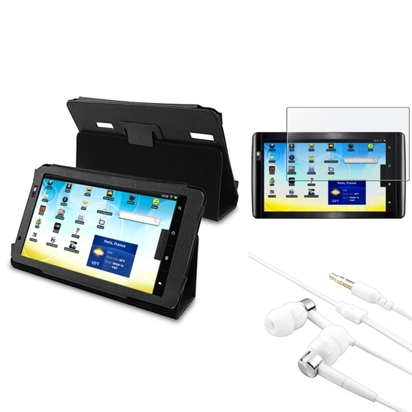BasAcc Case/ Screen Protector/ Headset for Archos 101 Internet Tablet