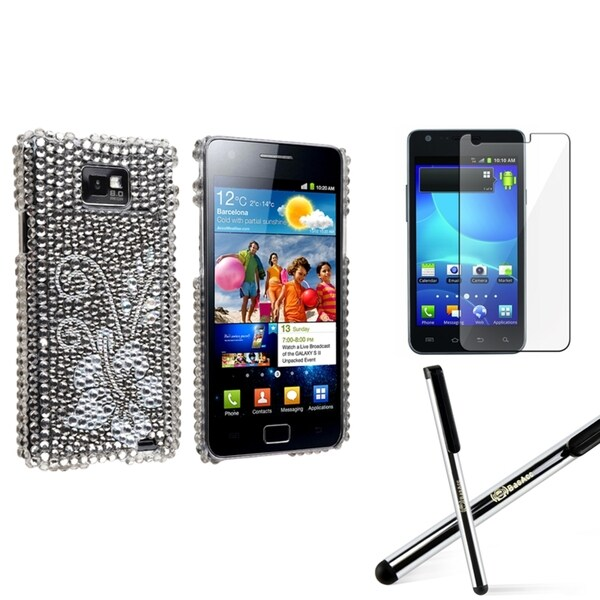 BasAcc Case/ Screen Protector/ Stylus for Samsung© Galaxy S2 I9100