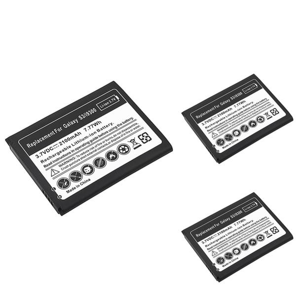 INSTEN Li-Ion Battery for Samsung Galaxy S III (Pack of 3)