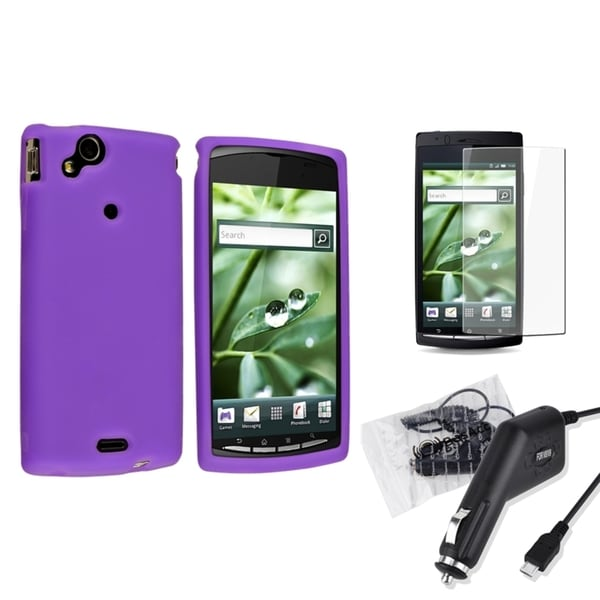 BasAcc Case/ LCD Protector/ Charger for Sony Ericsson Xperia Arc X12