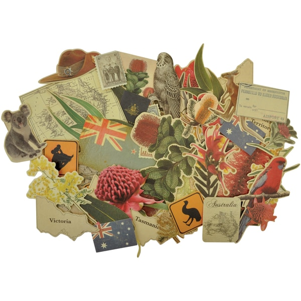 Great Southern Land Collectables Cardstock Die-Cuts 50/Pkg-