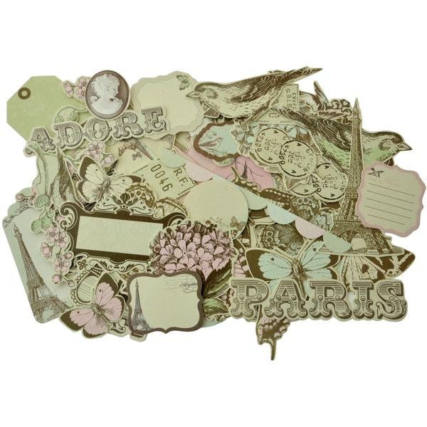 Bonjour Collectables Cardstock Die-Cuts 50/Pkg-