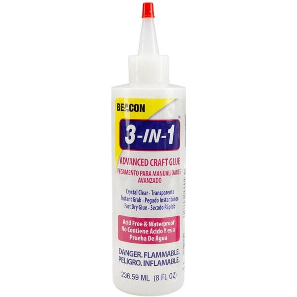 3 In 1 Advanced Craft Glue -8 Ounces
