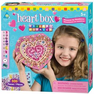 Sticky Mosaics Box Kit-Heart
