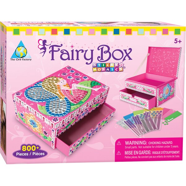 Sticky Mosaics Box Kit-Fairy