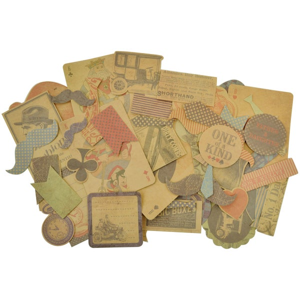 Sears & Son Collectables Cardstock Die-Cuts 59/Pkg-