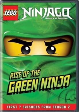 LEGO Ninjago: Masters of Spinjitzu - Rise of the Green Ninja (DVD)