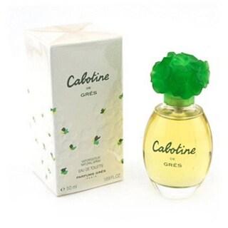 Parfums Gres Cabotine Women's 1.7-ounce Floral Eau de Toilette Spray