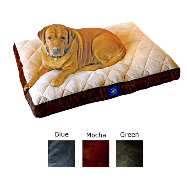 Serta Soft Pillowtop Pet Bed