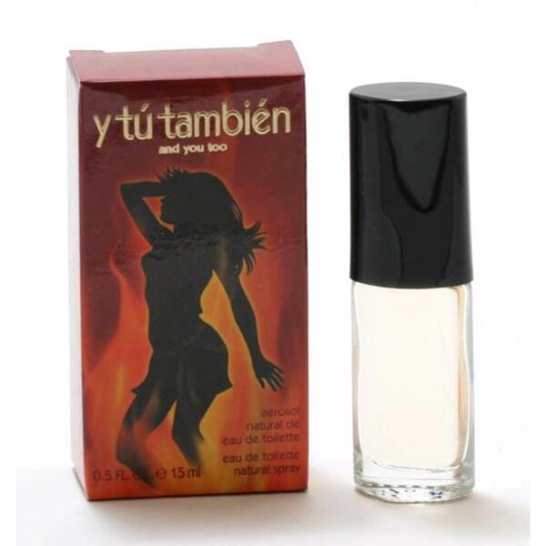 Y Tu Tambien Women's 0.5-ounce Eau de Toilette Spray