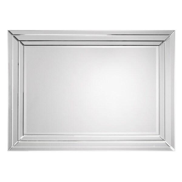 Beveled Frame Rectangular Mirror