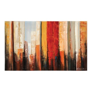 Ren Wil Lecavalier 'New York Morning' Hand-painted Canvas Art