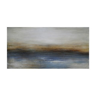 Ren Wil Charlene Lynch 'Calm Seas' Hand-painted Canvas Art