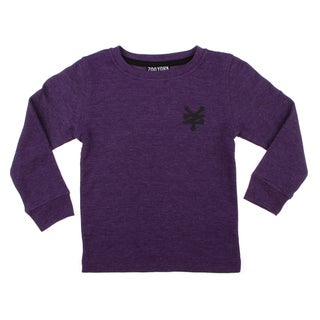 Zoo York Boys (4-7) Solid Thermal Pullover FINAL SALE