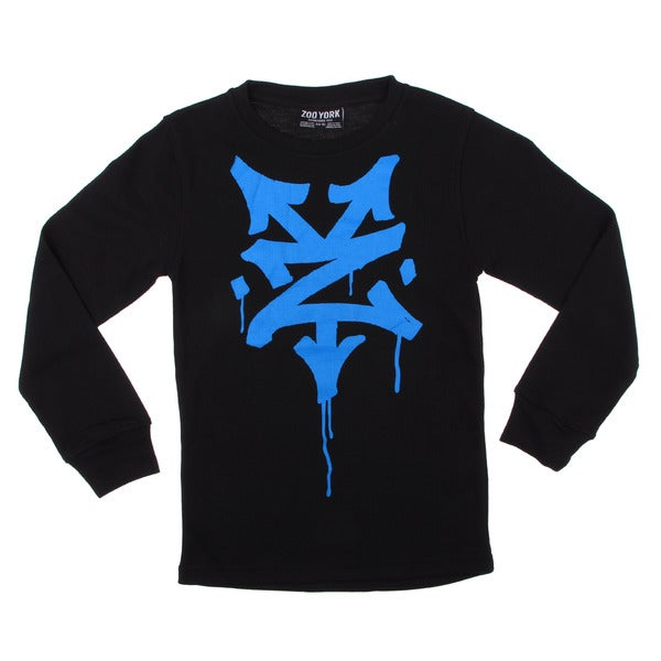 Zoo York Boys (8-20) Graphic Thermal Shirt