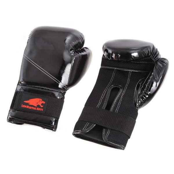 Lion Martial Arts 10-ounce Kick Boxing Glove Pair