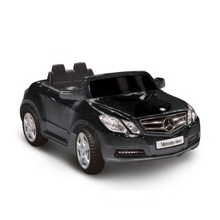 Mercedes Benz E550 Black 1-seater Riding Toy